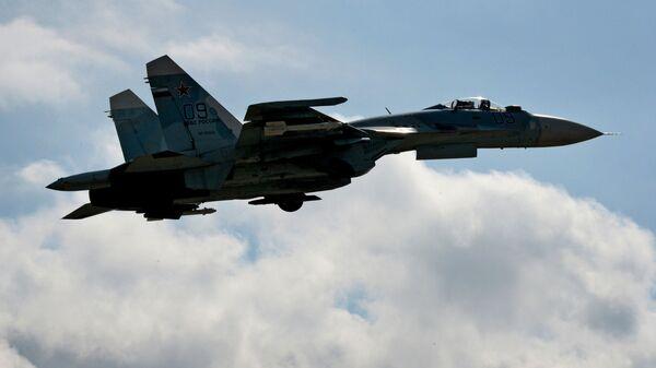 Истребитель Су-27СМ