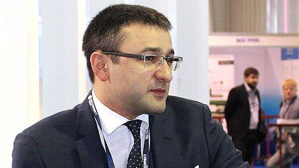 Заместитель главы Росгеологии Руслан Горринг