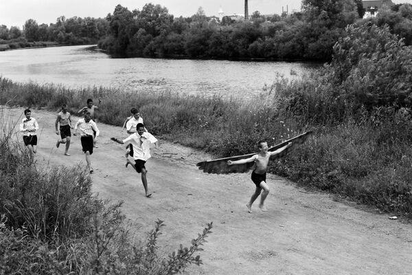 Борис Регистер. Икар. Гвардейск, 1991. Собрание МАММ