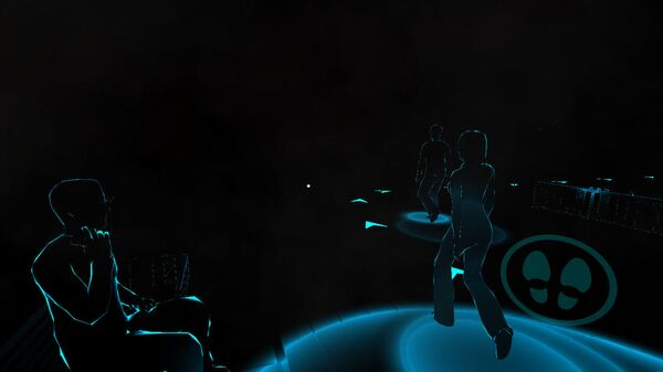 Скриншот из VR проекта Слепые в большом городе