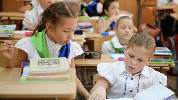 Ученицы одной из школ