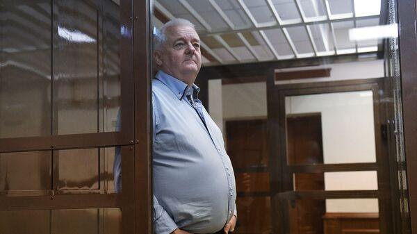 Гражданин Норвегии Фруде Берг, обвиняемый в шпионаже в России, в Московском городском суде