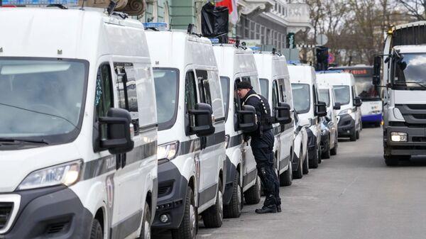 Автомобили полиции в Риге