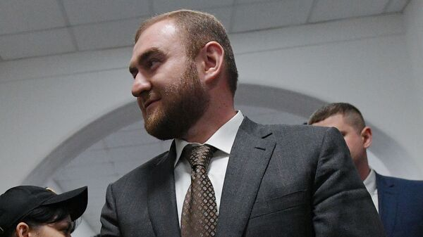 Сенатор Рауф Арашуков