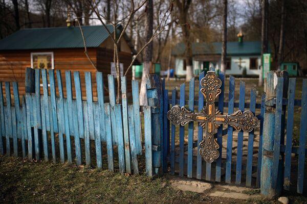 Храм блаженной Матроны Московской в селе Фанагорийское Краснодарского края