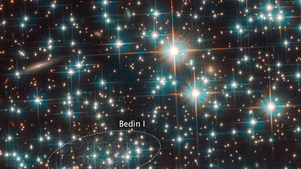 """""""Хаббл"""" открыл древнейшую галактику Вселенной рядом с Млечным Путем"""