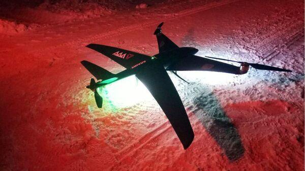 Беспилотники-конвертопланы TRIADA для работы в Арктике