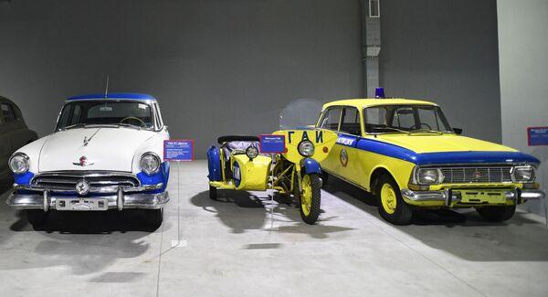 Автомобили в музее киноконцерна Мосфильм