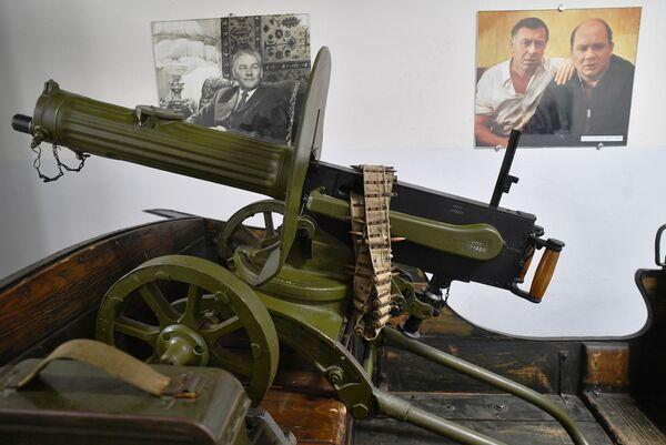 Пулемет в музее киноконцерна Мосфильм