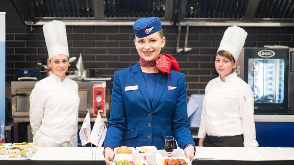 Авиакомпания Россия предложит пассажирам 20 обновленных вариантов бортового питания