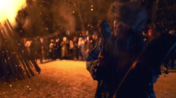 Кадр из видео Александра Федорова