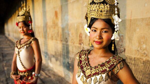 Танцовщицы Апсары