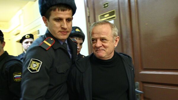Полковник ГРУ в отставке Владимир Квачков в суде