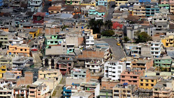 Трущобы в Кито, Эквадор