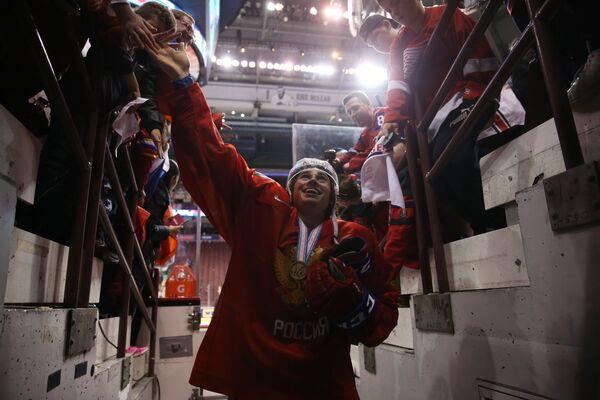 Хоккей. Молодежный чемпионат мира. Матч за третье место