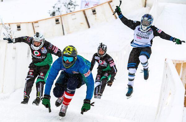 Этап Кубка мира по скоростному спуску на коньках ATSX500