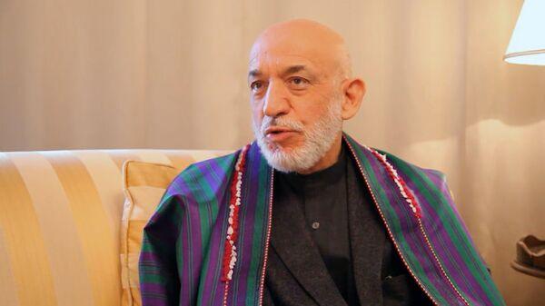 Бывший президент Афганистана Хамид Карзай