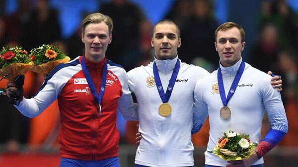 Ховард Лорентцен, Руслан Мурашов и Виктор Муштаков (слева направо)