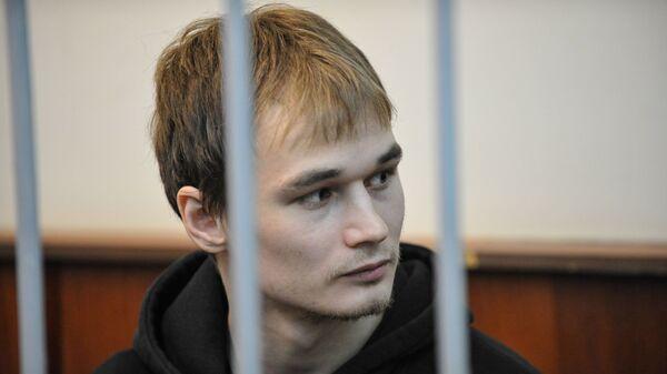 Аспирант механико-математического факультета МГУ Азат Мифтахов в суде