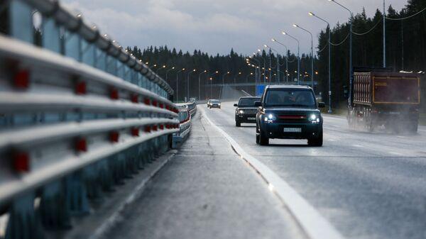 Автомобили на федеральной автомобильной дороге А-181 Скандинавия