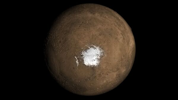 Подледное озеро на Марсе может быть следом недавнего извержения вулкана