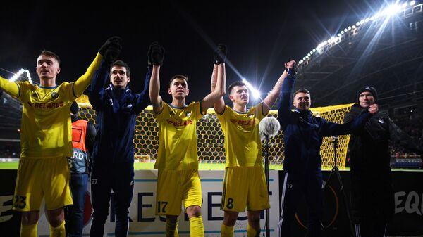 Футбол. Лига Европы. Матч БАТЭ - Арсенал