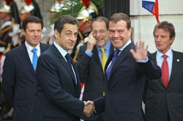Президент РФ принял участие в саммите Россия-ЕС во Франции