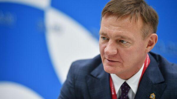 Временно исполняющий обязанности губернатора Курской области Роман Старовойт