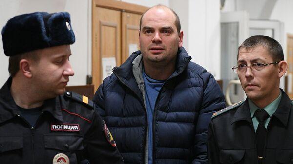 Экс-председатель правления банка Восточный Алексей Кордичев в Басманном суде Москвы
