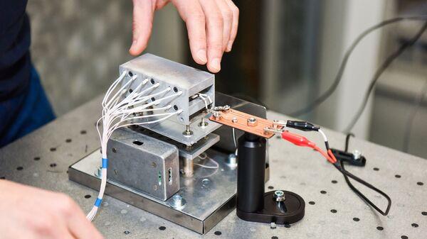 Лабораторный прототип датчика