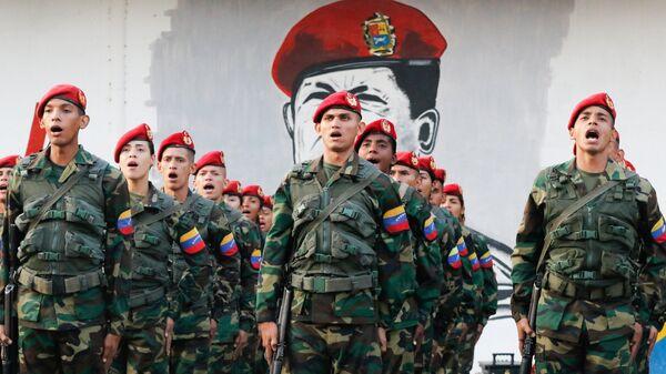 Солдаты Вооруженных сил Венесуэлы