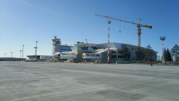Строительство нового пассажирского терминала аэропорта Хабаровска