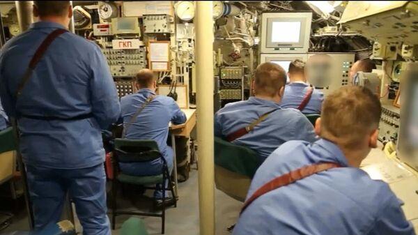 Во время испытания подводной лодки — носителя беспилотного комплекса Посейдон