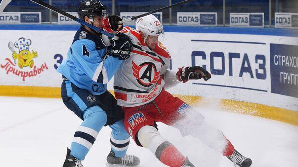 Хоккей. КХЛ. Матч Сибирь - Автомобилист