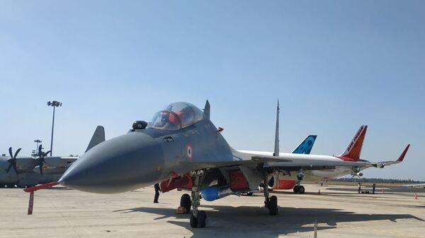 Самолет Су-30МКИ