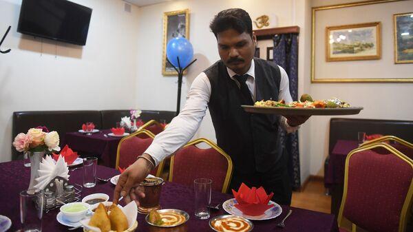 Кафе индийской кухни
