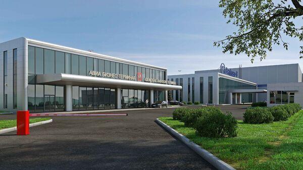 Проект реконструкции терминала внутренних воздушных линий Внукова-3