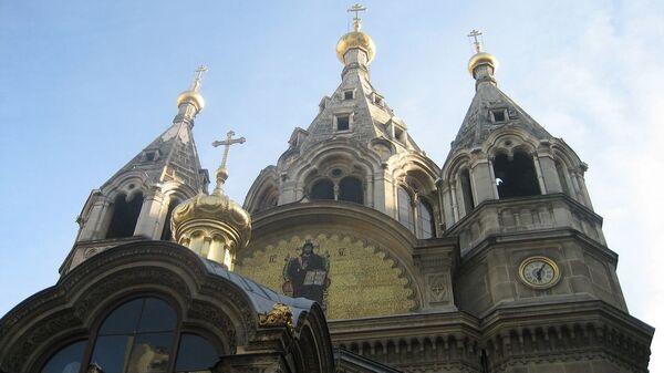 Кафедральный собор экзархата православных русских церквей в Западной Европе Собор Александра Невского в Париже