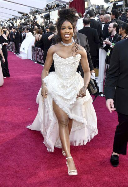 Американская певица SZA на церемонии вручения премии Оскар