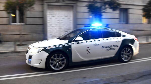 Автомобиль Гражданской гвардии Испании