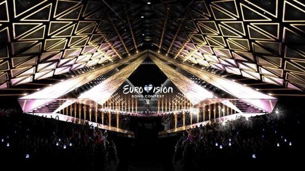 Дизайн сцены, на которой проходилфинал песенного конкурса Евровидение-2019