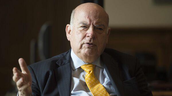 Cенатор парламента Чили, бывший министр иностранных дел и экс-генсек ОАГ Хосе Мигель Инсульса