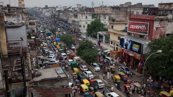Главная улица Старого Дели