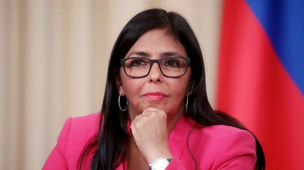 Вице-президент Венесуэлы Д. Родригес
