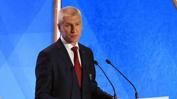 Президент международной федерации студенческого спорта (FISU) Олег Матыцин