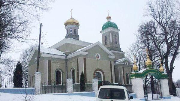Храм в селе Гнездичное Тернопольской области Украины