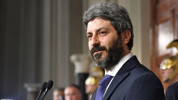 Председатель Палаты депутатов парламента Италии Роберто Фико