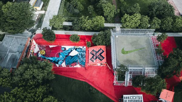 Nike Box MSK / KOSMOS architects + Strelka KB