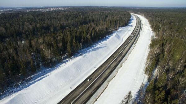 Участок платной дороги М-11 Москва - Санкт-Петербург