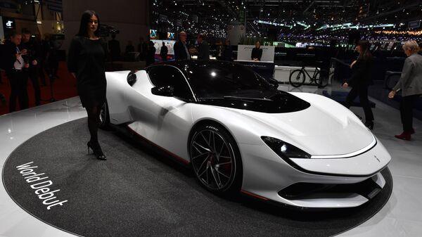 Гиперкар Pininfarina Battista на Международном Женевском автосалоне 2019